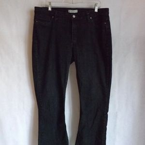 Womens RIDERS by LEE Jeans - Black - Sz 16P